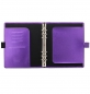 Mobile Preview: Filofax Saffiano Metallic A5 Organiser Violet 2020