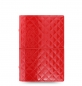 Preview: Filofax Domino Luxe Personal Organiser Red 2020