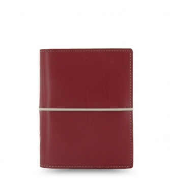 Filofax Domino Pocket Organiser Red 2020